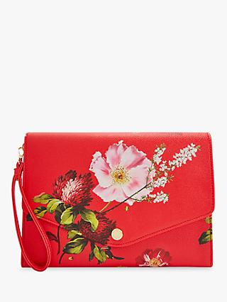 80fd3583d502 Ted Baker Floore Leather Clutch Bag