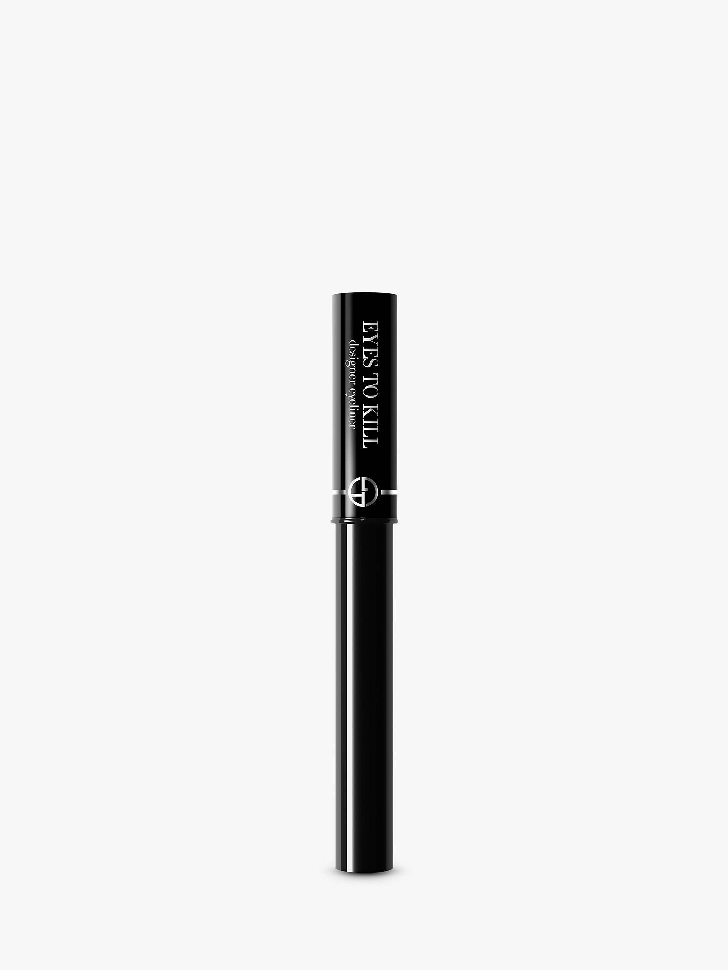 achten Sie auf online zu verkaufen Neupreis Giorgio Armani Eyes To Kill Designer Eyeliner, Matte Onyx