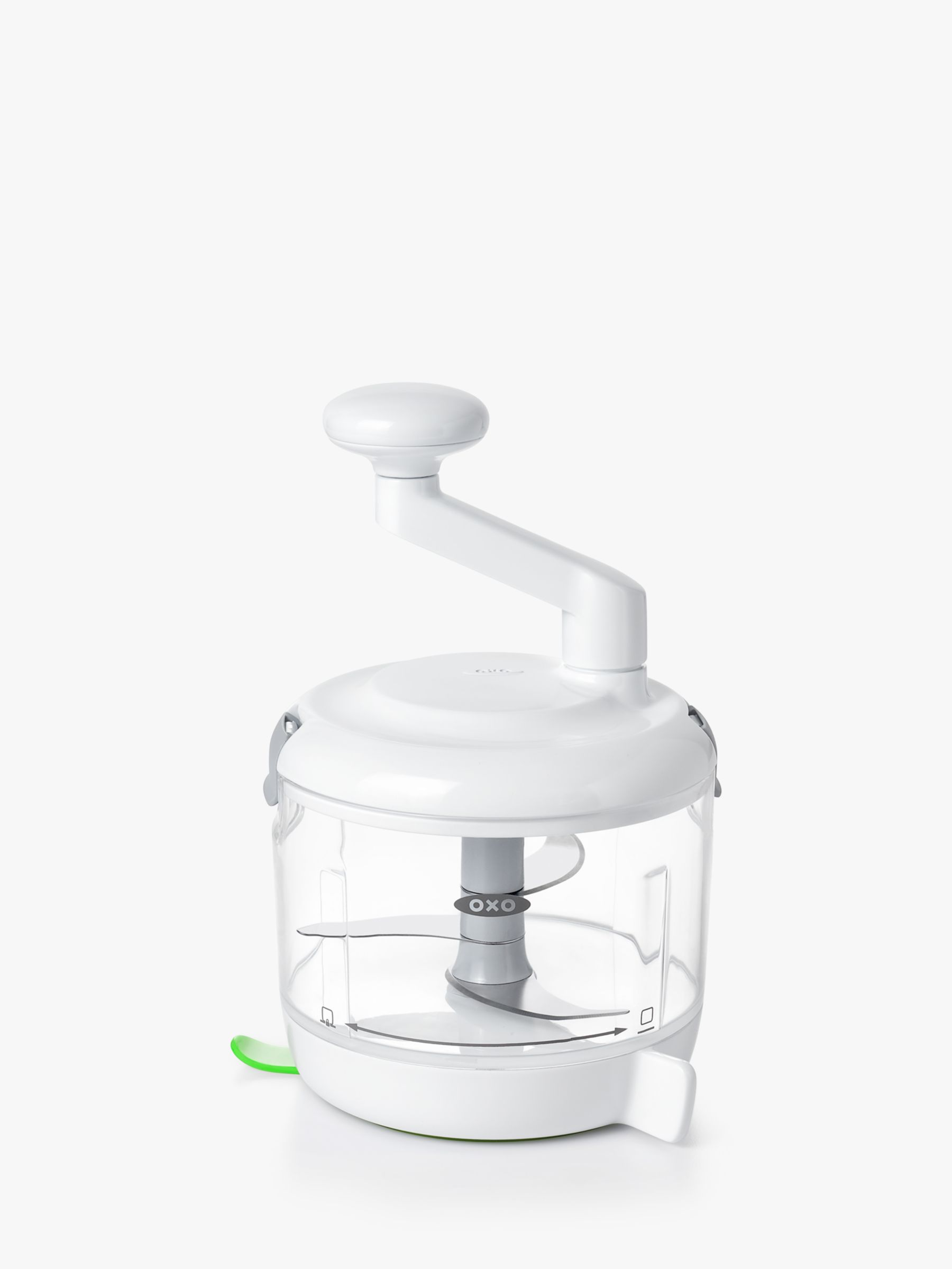 Oxo OXO One Stop Chop Manual Food Processor, Clear