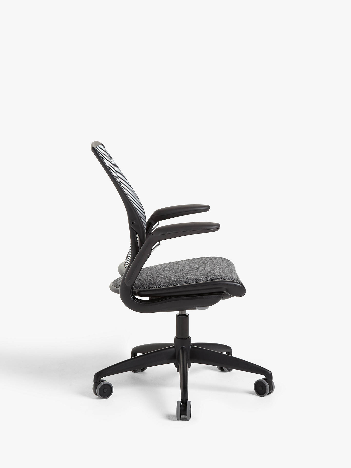 Buy Humanscale Diffrient World Task Office Chair, Black Online at johnlewis.com