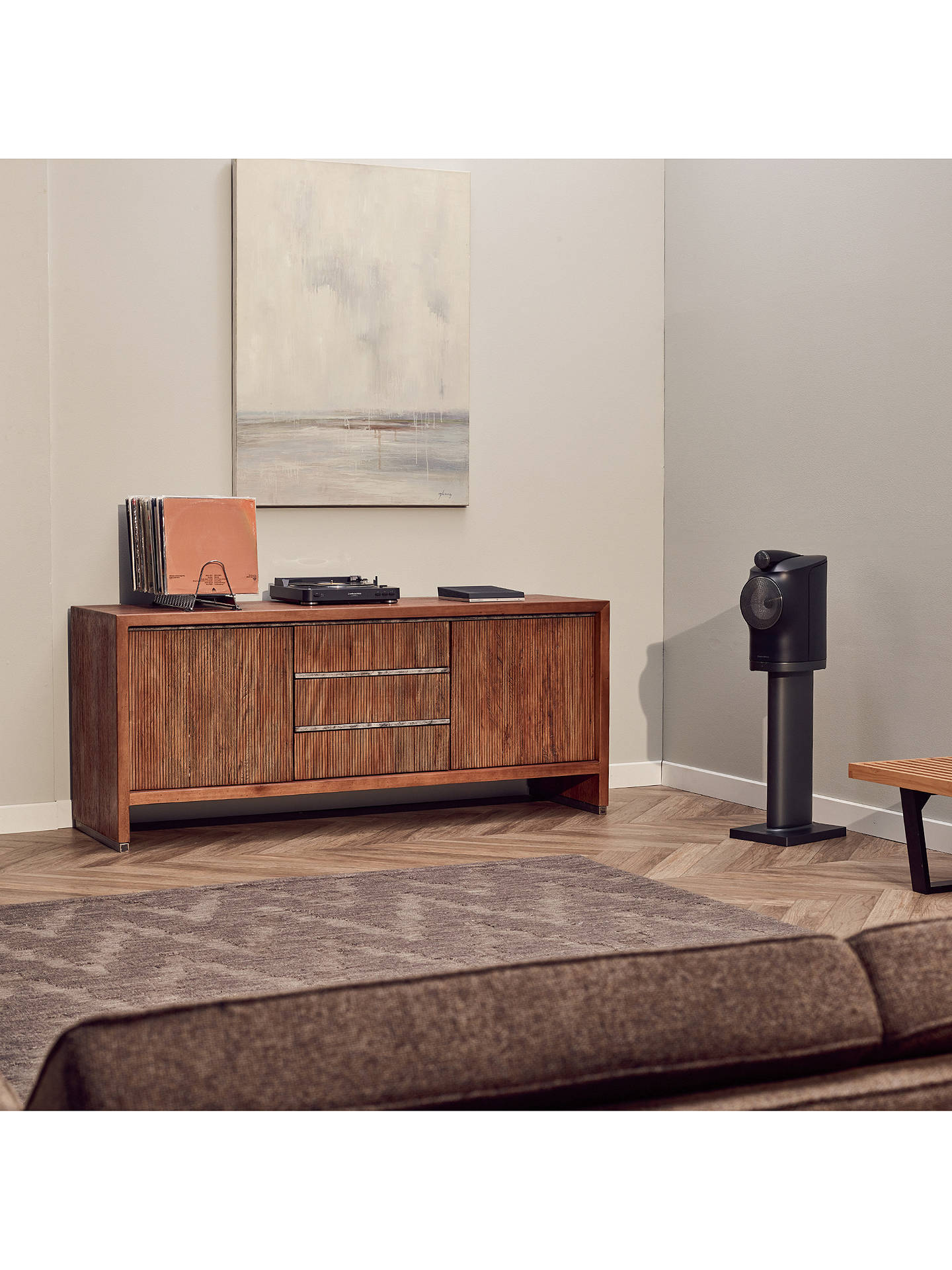 Buy Bowers & Wilkins Formation Duo Bluetooth Wi-Fi Stereo Speakers, Black Online at johnlewis.com