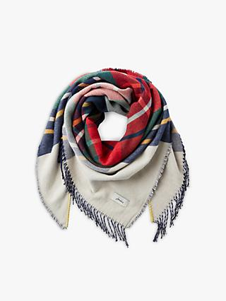 Joules Wilstow Check Print Scarf