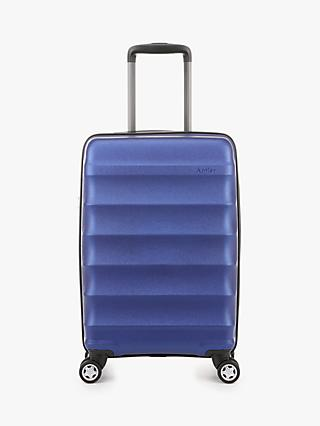 Antler Juno Metallic 4-Wheel 56cm Cabin Suitcase