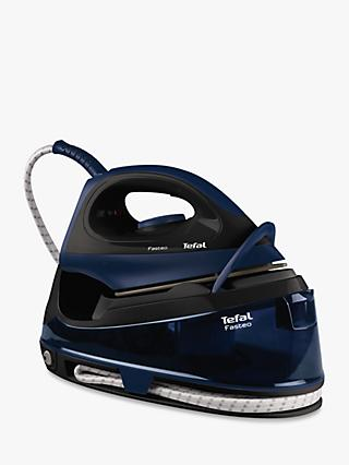 Tefal Fasteo SV6050 Steam Generator Iron, Black