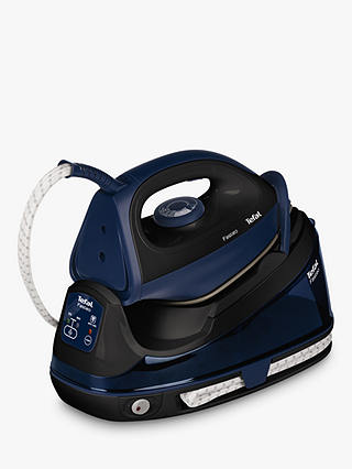Buy Tefal Fasteo SV6050 Steam Generator Iron, Black Online at johnlewis.com