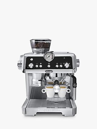 De'Longhi EC9335.M La Specialista Bean to Cup Coffee Machine, Silver