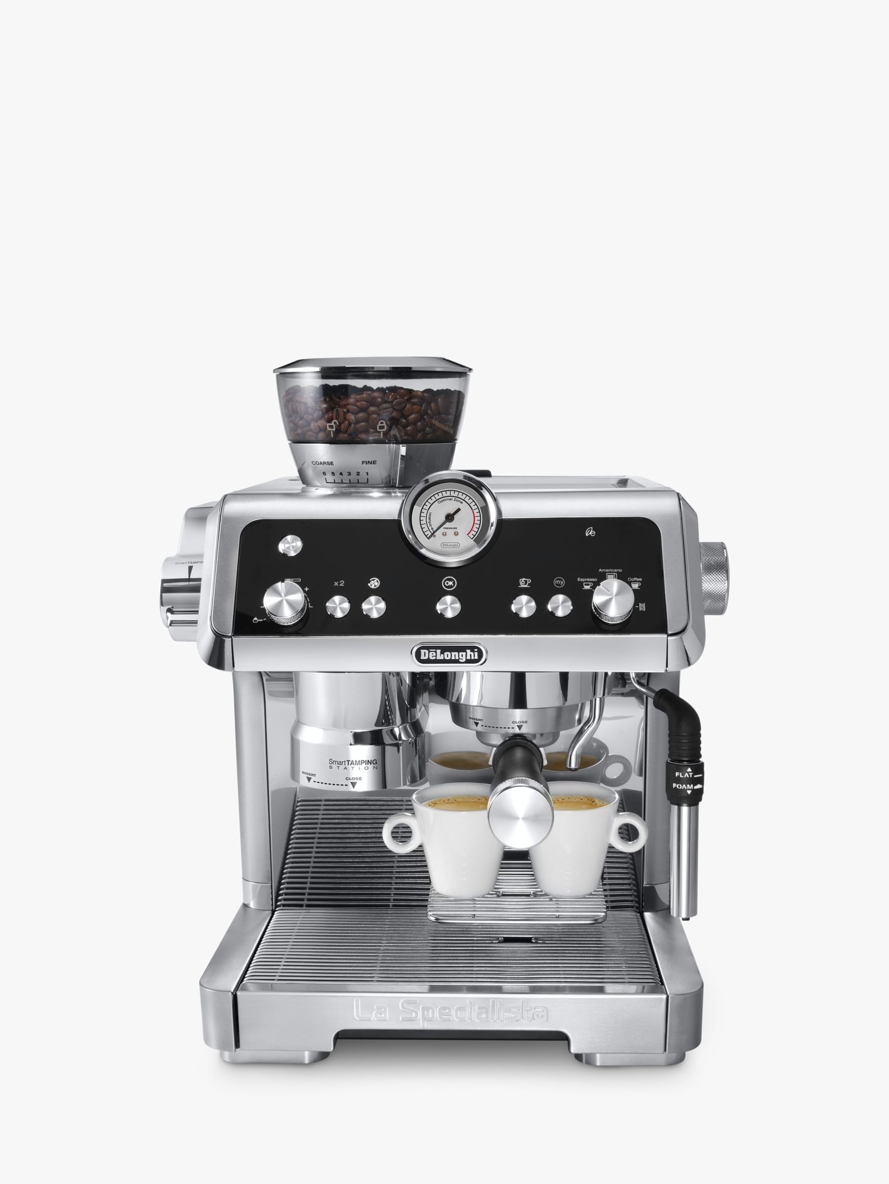 Delonghi De'Longhi EC9335.M La Specialista Bean to Cup Coffee Machine, Silver