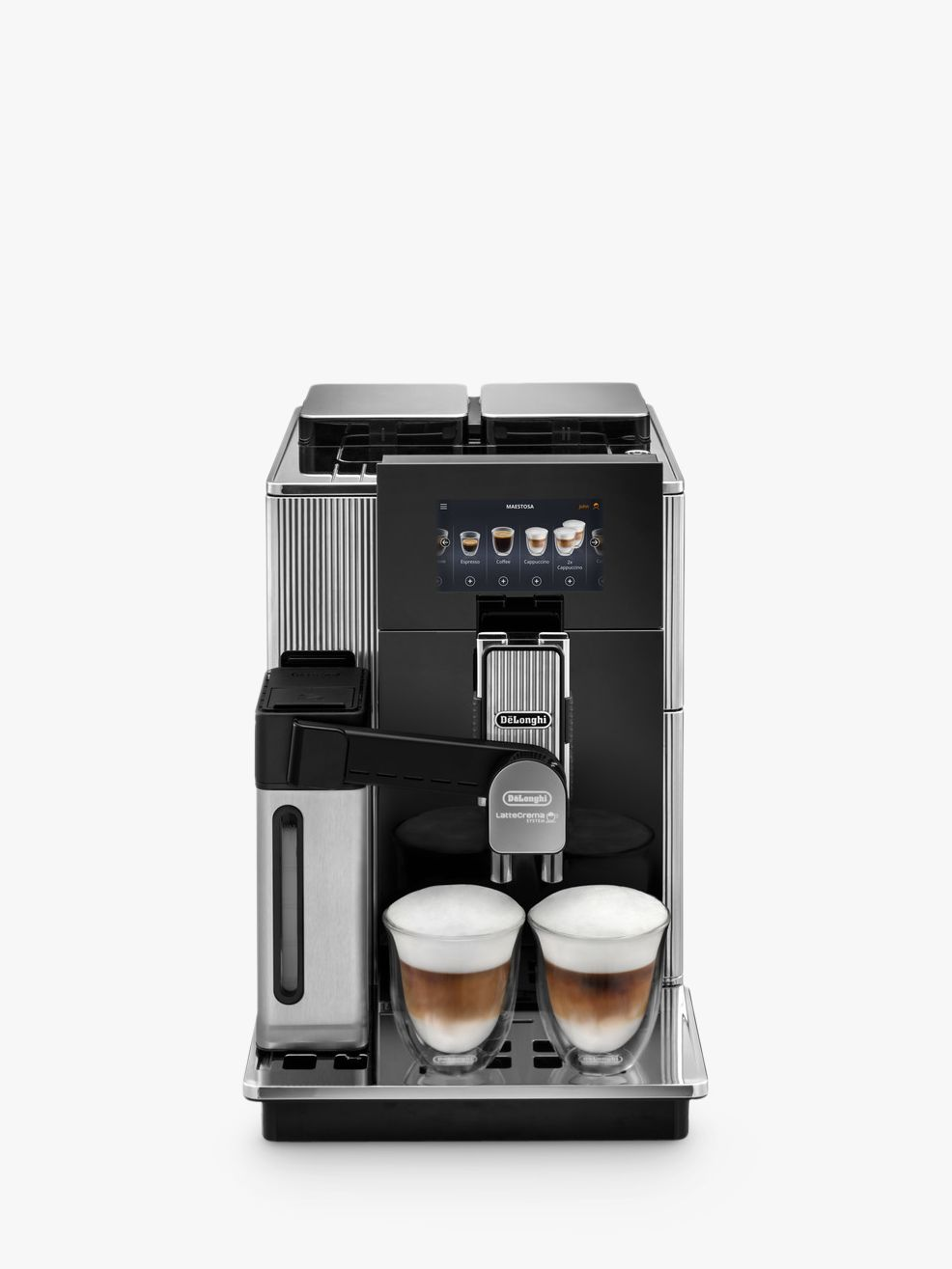 Delonghi De'Longhi EPAM960.75.Gi M Maestosa Bean-to-Cup Coffee Machine, Black