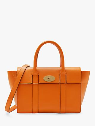 Mulberry Small Bayswater Small Classic Grain Leather Satchel Bag