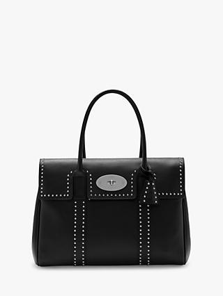 c6d1232b9b2 Mulberry Bayswater Heritage Rivets Classic Grain Leather Handbag