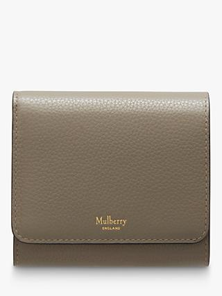Mulberry Continental Classic Grain Leather Small French Purse