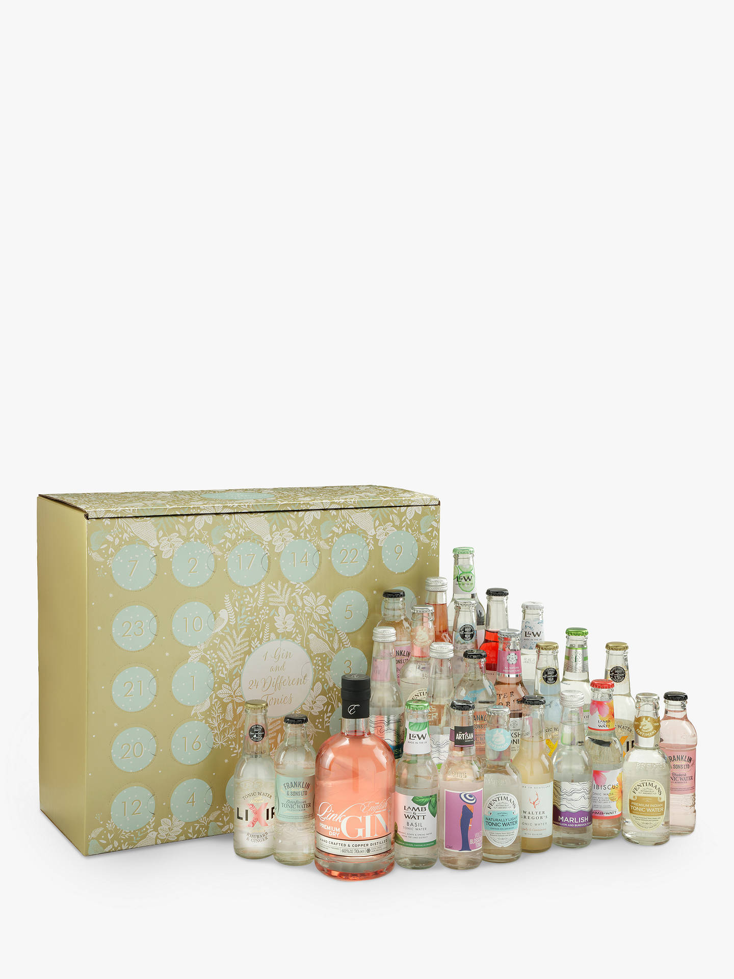 Buy Gin & Tonic Advent Calendar, 550cl Online at johnlewis.com