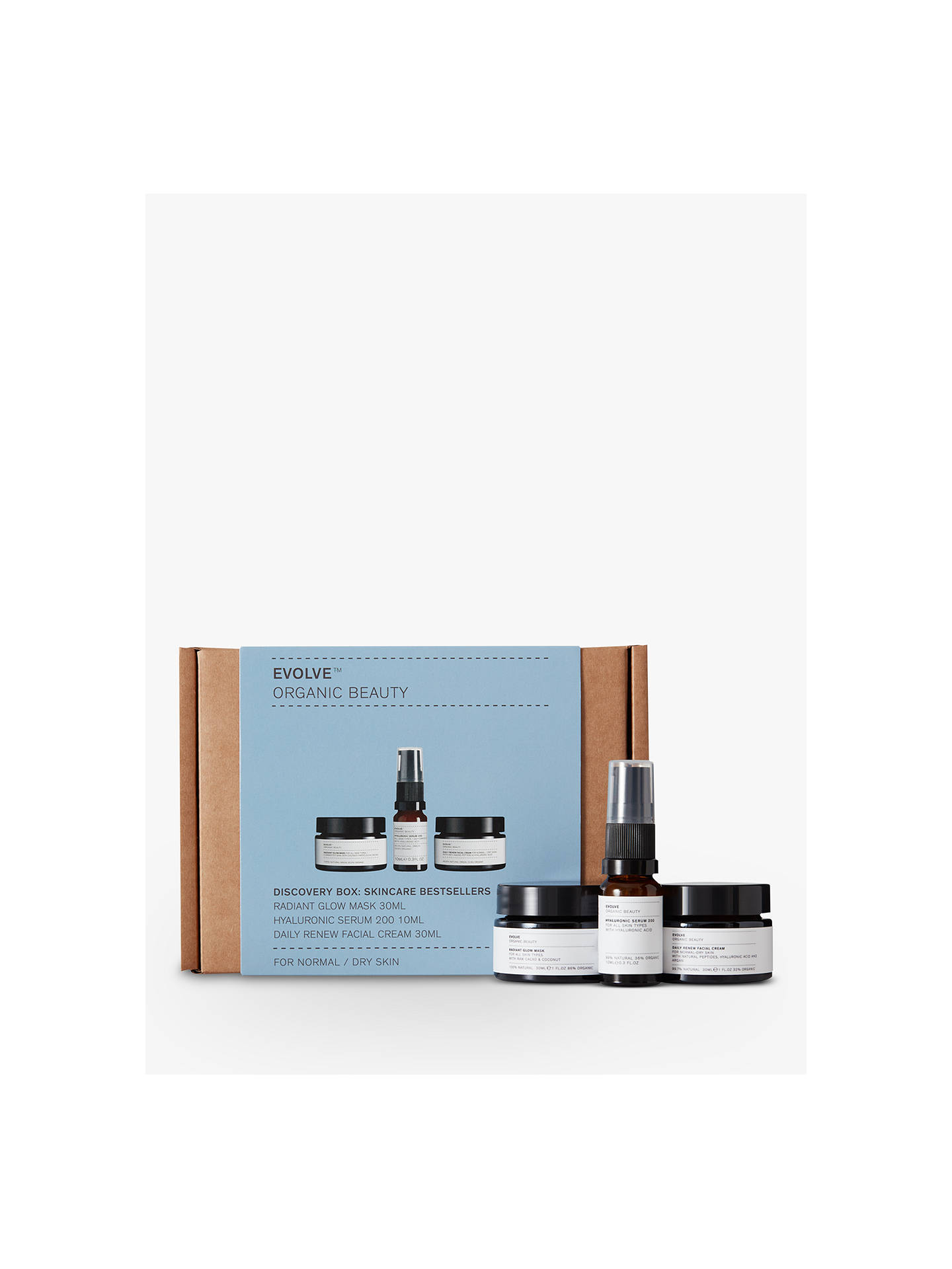 Buy Evolve Organic Beauty Skincare Bestsellers Gift Set Online at johnlewis.com