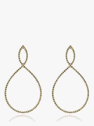 Emily Mortimer Jewellery Nova 9ct Gold Semi-Precious Stone Drop Earrings