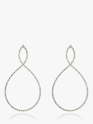Emily Mortimer Nova 9ct Gold Semi-Precious Stone Drop Earrings