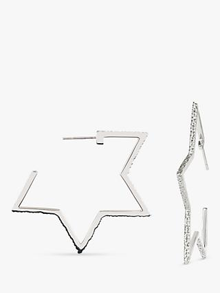 Emily Mortimer Jewellery Cosmo Large Open Star Drop Earrings