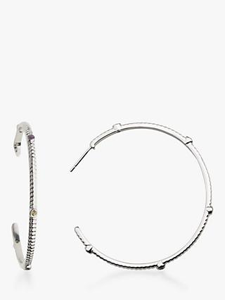 Emily Mortimer Jewellery Wanderlust Multi Stone Hoop Earrings