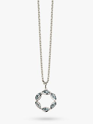 Emily Mortimer Jewellery Halcyon Round Pendant Necklace