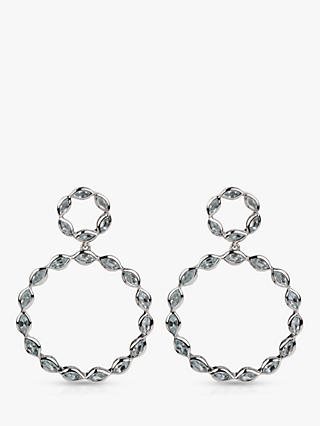 Emily Mortimer Halcyon Round Drop Earrings