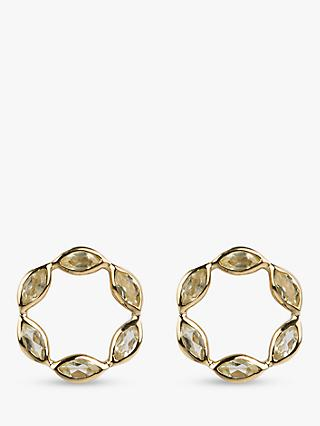Emily Mortimer Halcyon Round Stud Earrings