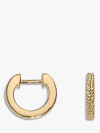 Emily Mortimer Wanderlust Textured Mini Hoop Earrings