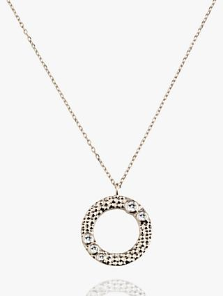 Emily Mortimer Jewellery Wanderlust Round Pendant Necklace