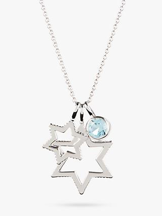 Emily Mortimer Jewellery Cosmo Triple Star Pendant Necklace