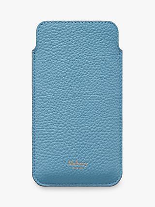 9c2b4522e Mulberry Small Classic Grain Leather iPhone Cover   Card Slip