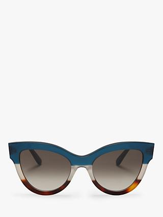 Mulberry Women's Christy Cat's Eye Sunglasses