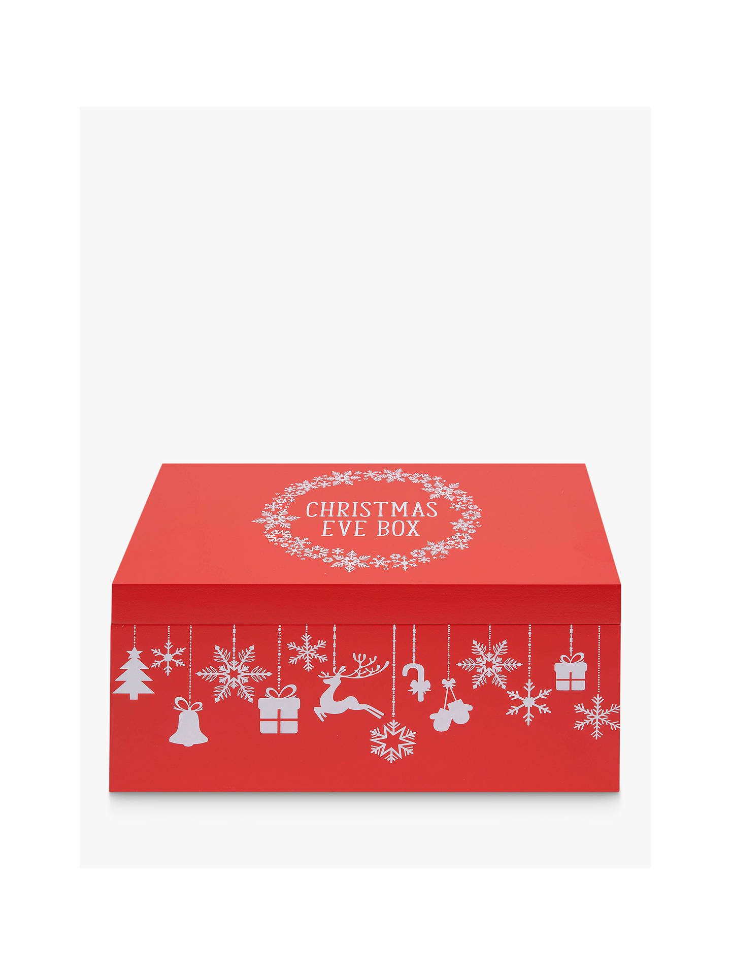 Buy John Lewis & Partners Christmas Eve Box, Red Online at johnlewis.com
