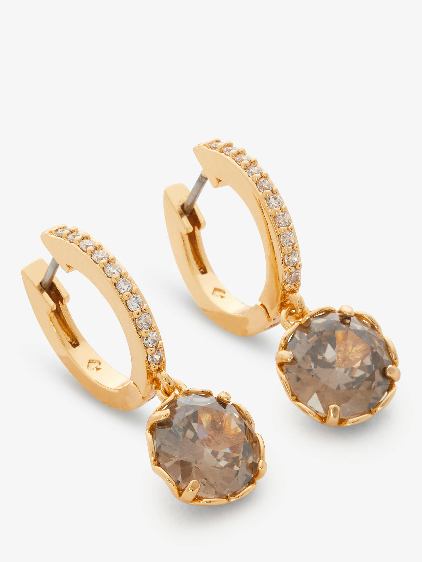 f89a73ac3d08 Buy kate spade new york That Special Sparkle Drop Earrings, Diamond  Grey/Gold Online ...