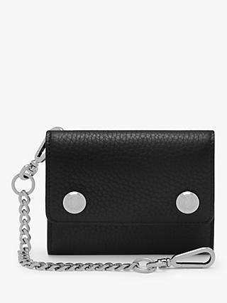 Mulberry Heavy Grain Leather Wallet on Chain
