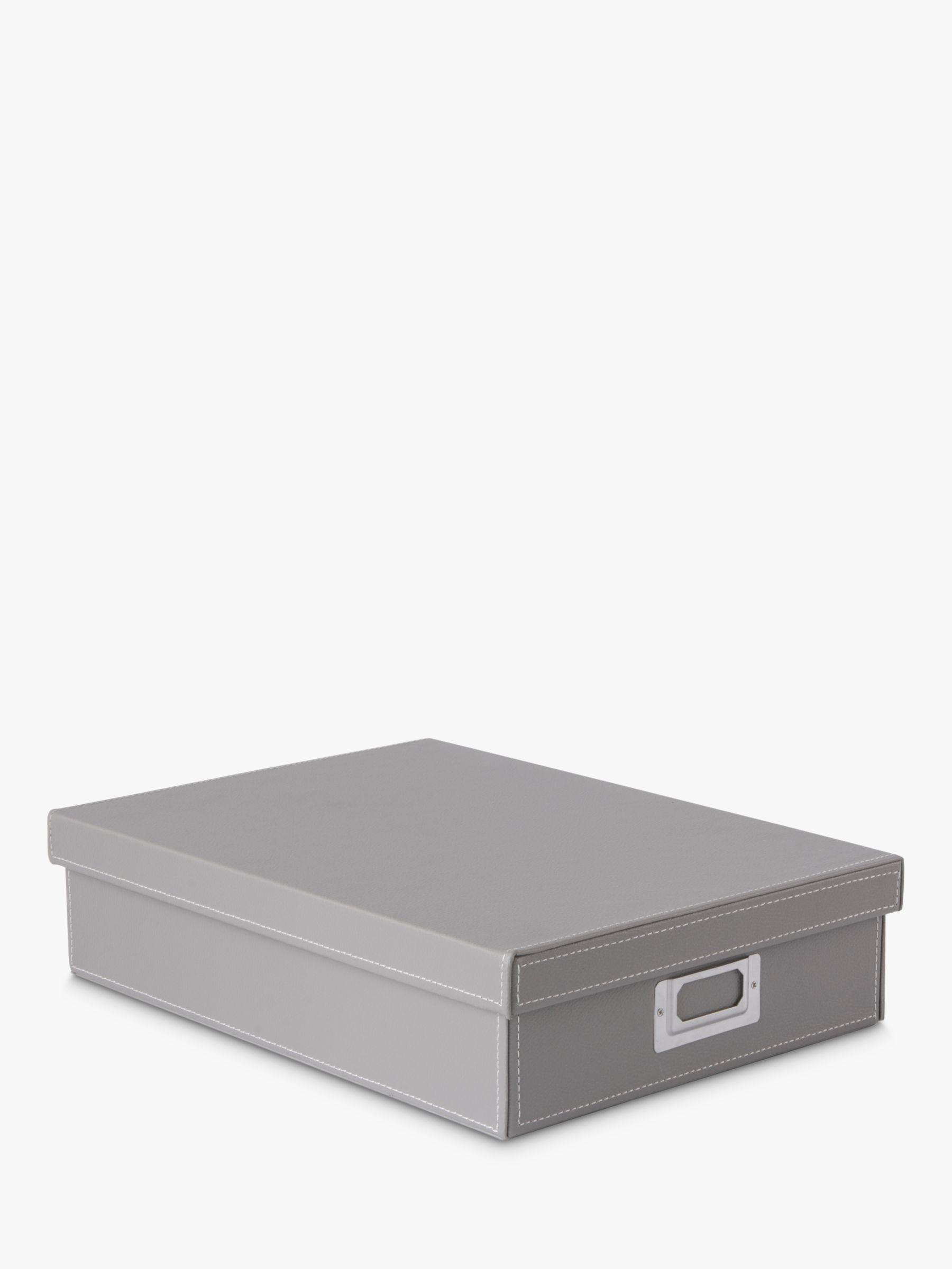 Osco Osco Faux Leather A4 Storage Box