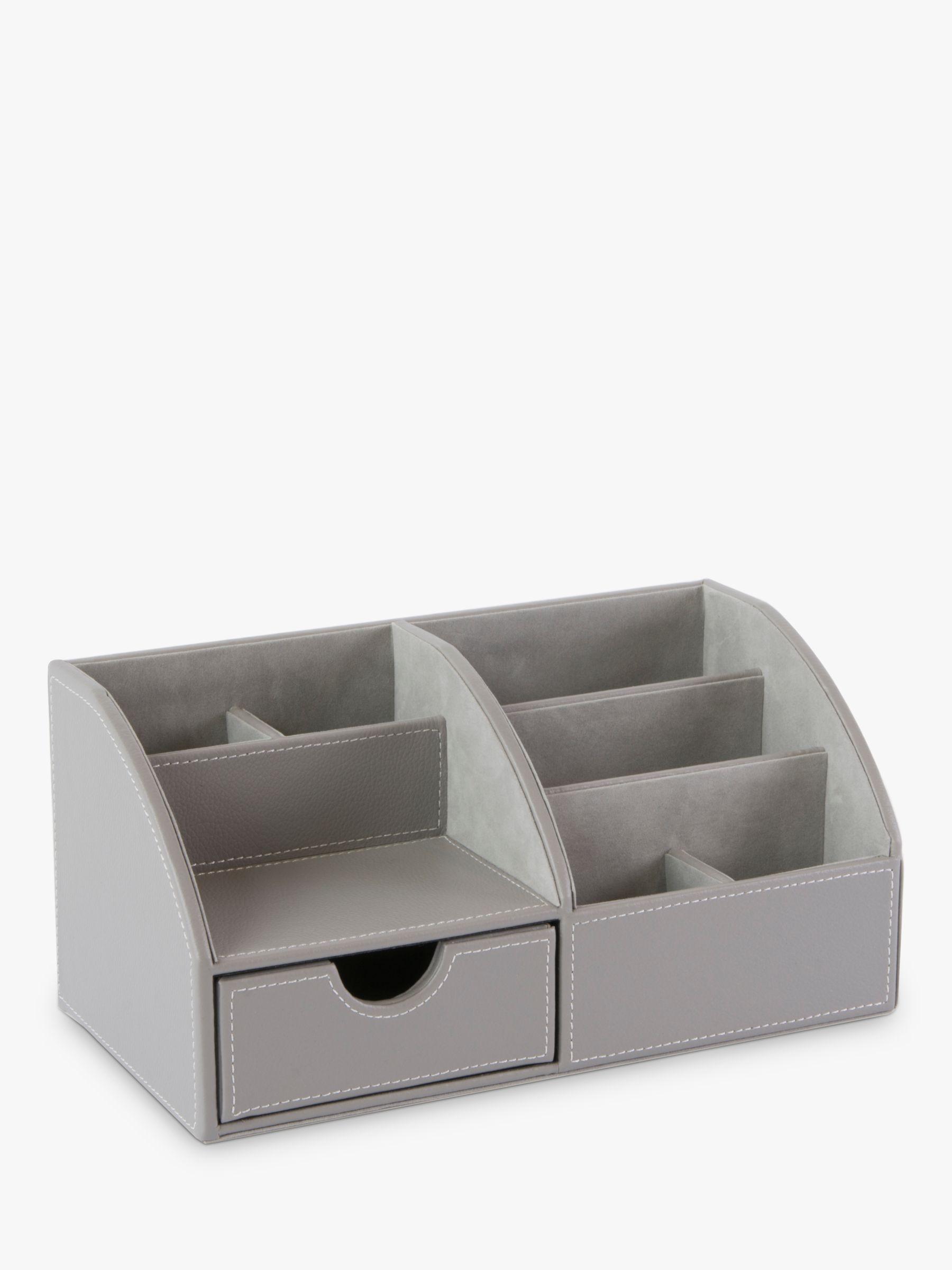 Osco Osco Faux Leather Desk Organiser