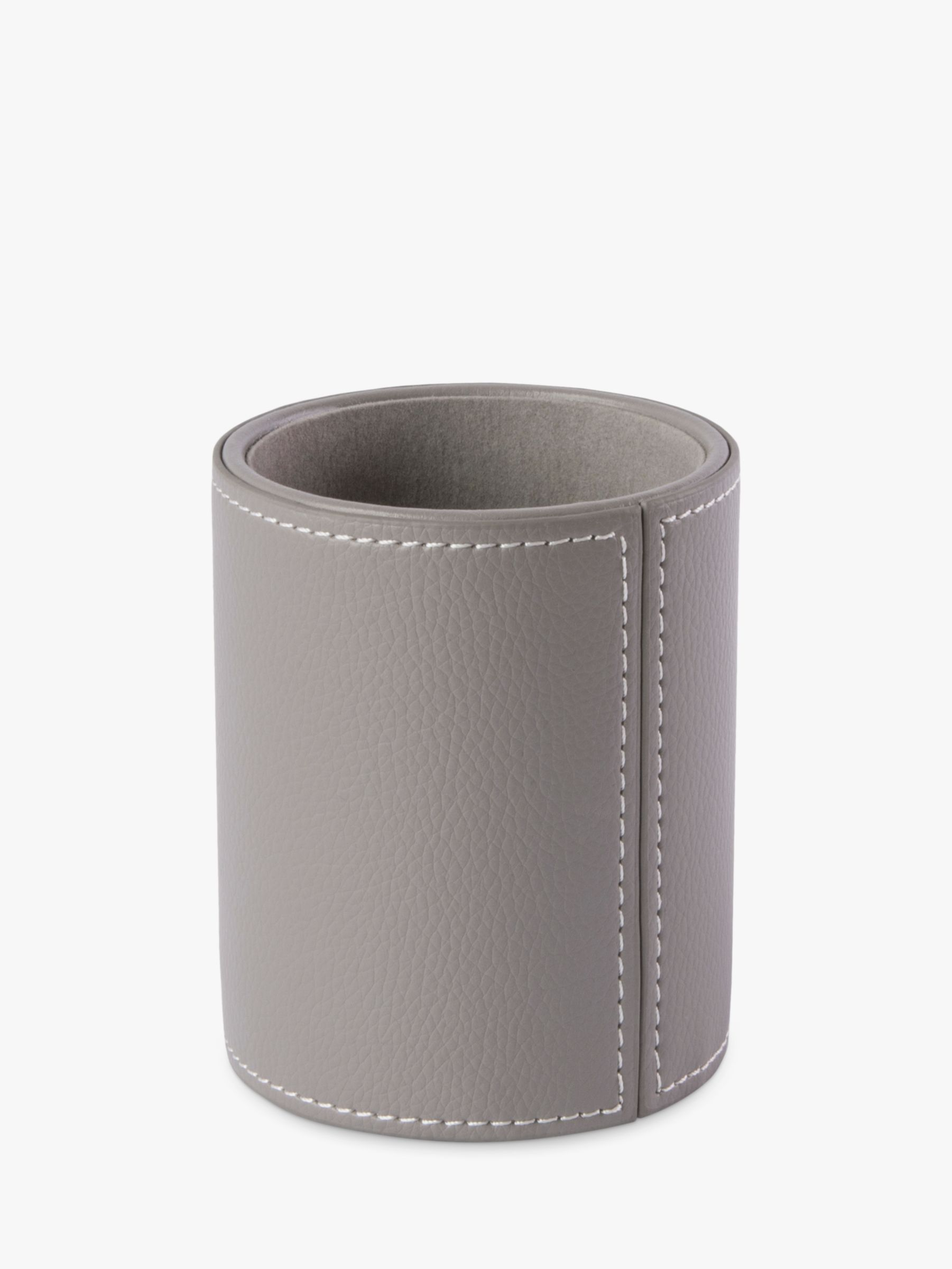 Osco Osco Faux Leather Pen Pot