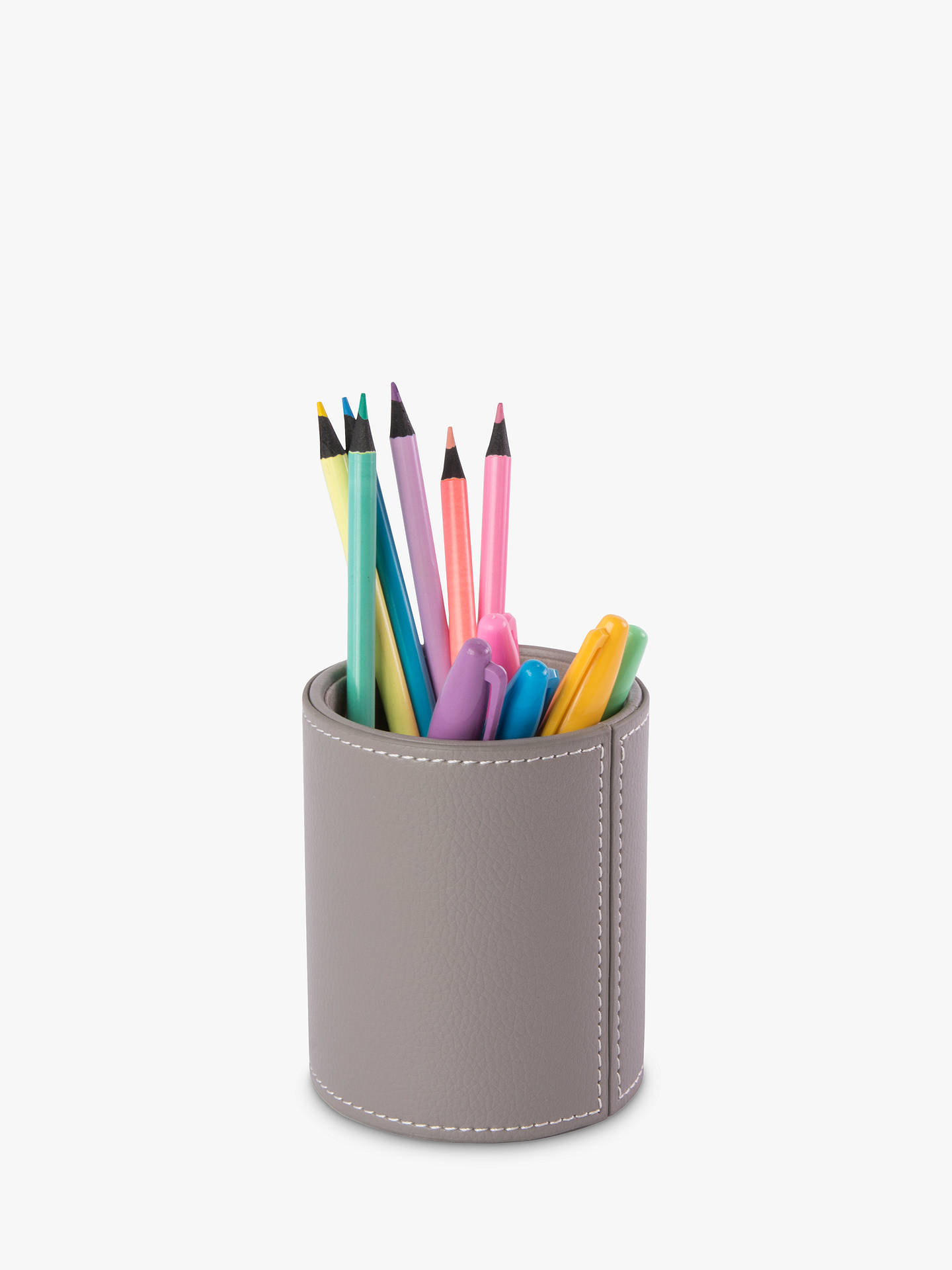 Buy Osco Faux Leather Pen Pot Online at johnlewis.com