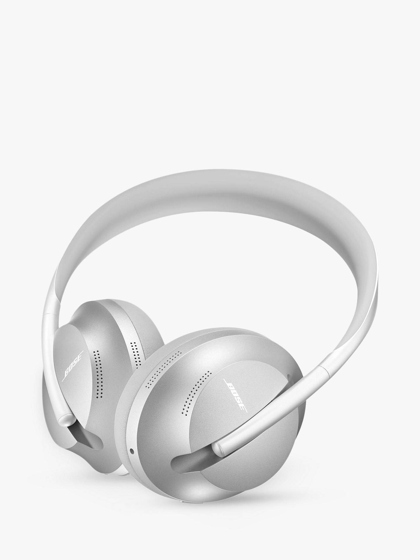 Buy Bose® 700 Noise Cancelling Over-Ear Wireless Bluetooth Headphones with Mic/Remote, Silver Online at johnlewis.com
