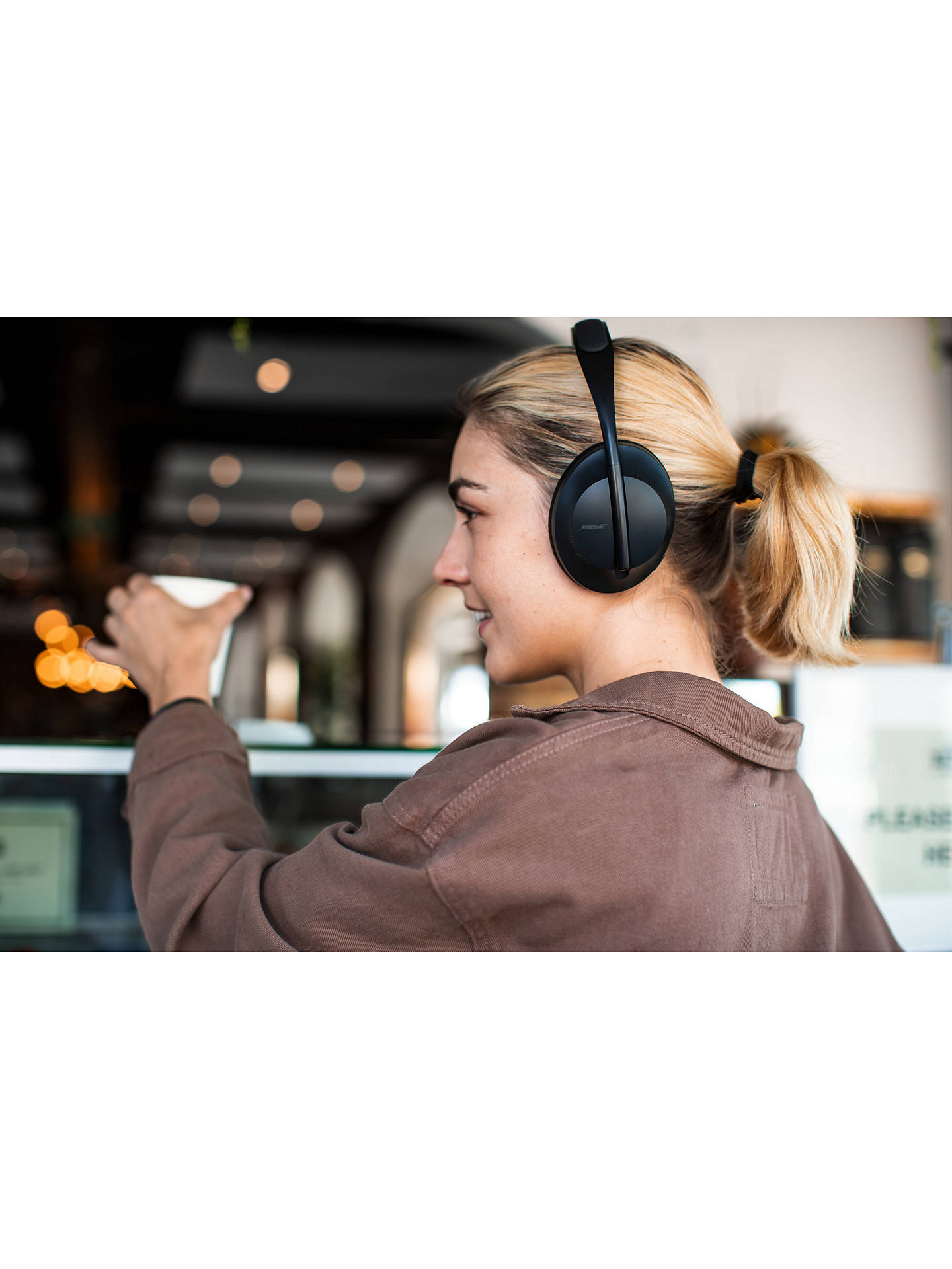 Bose 700 Noise Cancelling Over Ear Wireless Bluetooth Headphones With Mic Remote At John Lewis Partners