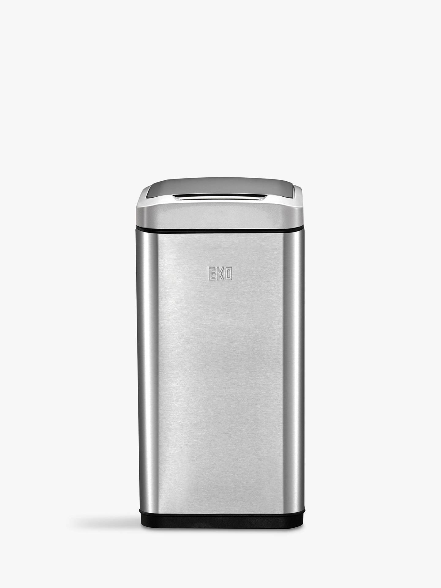 EKO Allure Stainless Steel Sensor Bin, 8L