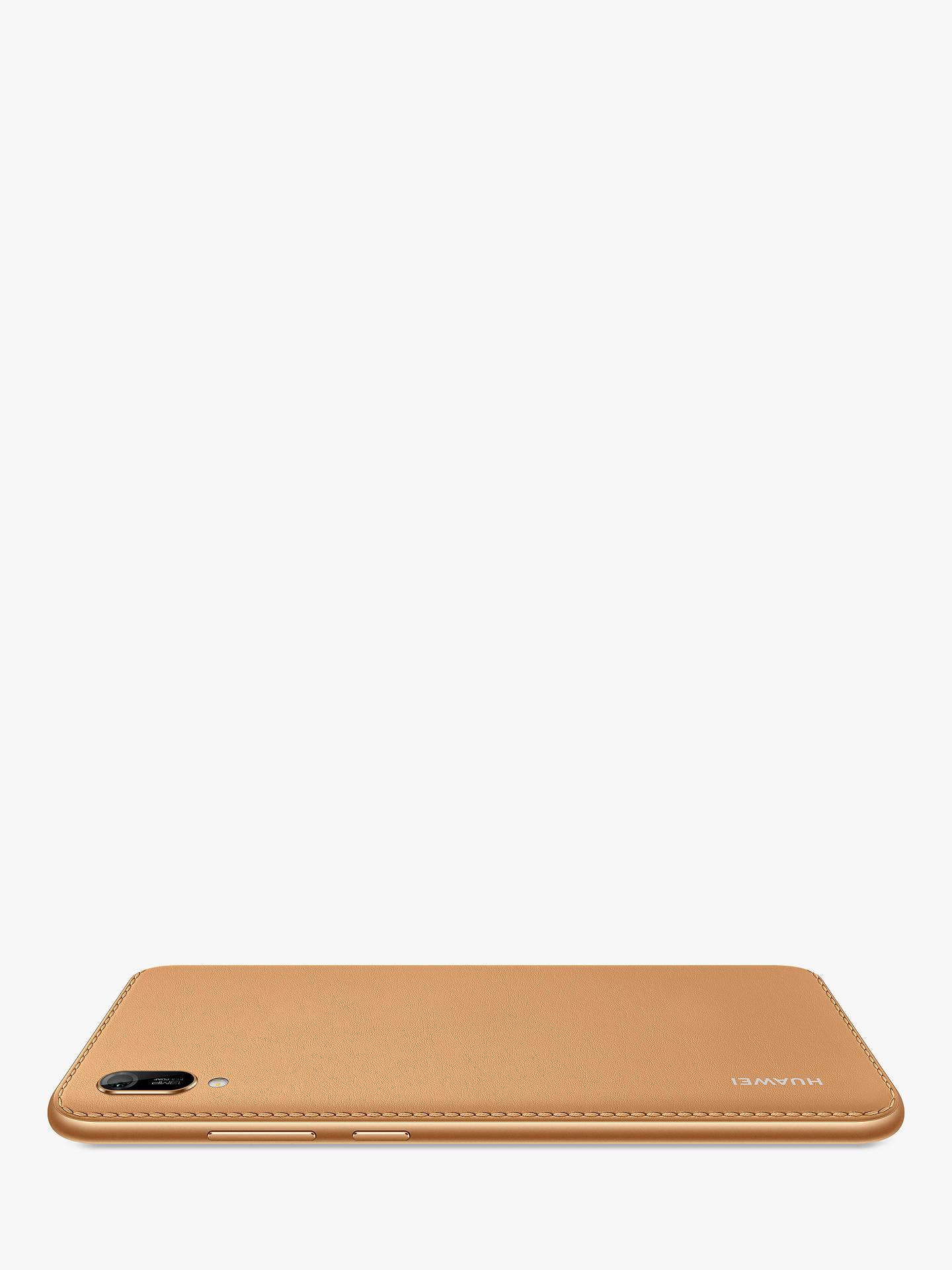 "Huawei Y6 2019 Smartphone, Android, 2GB RAM, 6 09"", 4G LTE, SIM Free, 32GB,  Amber Brown"