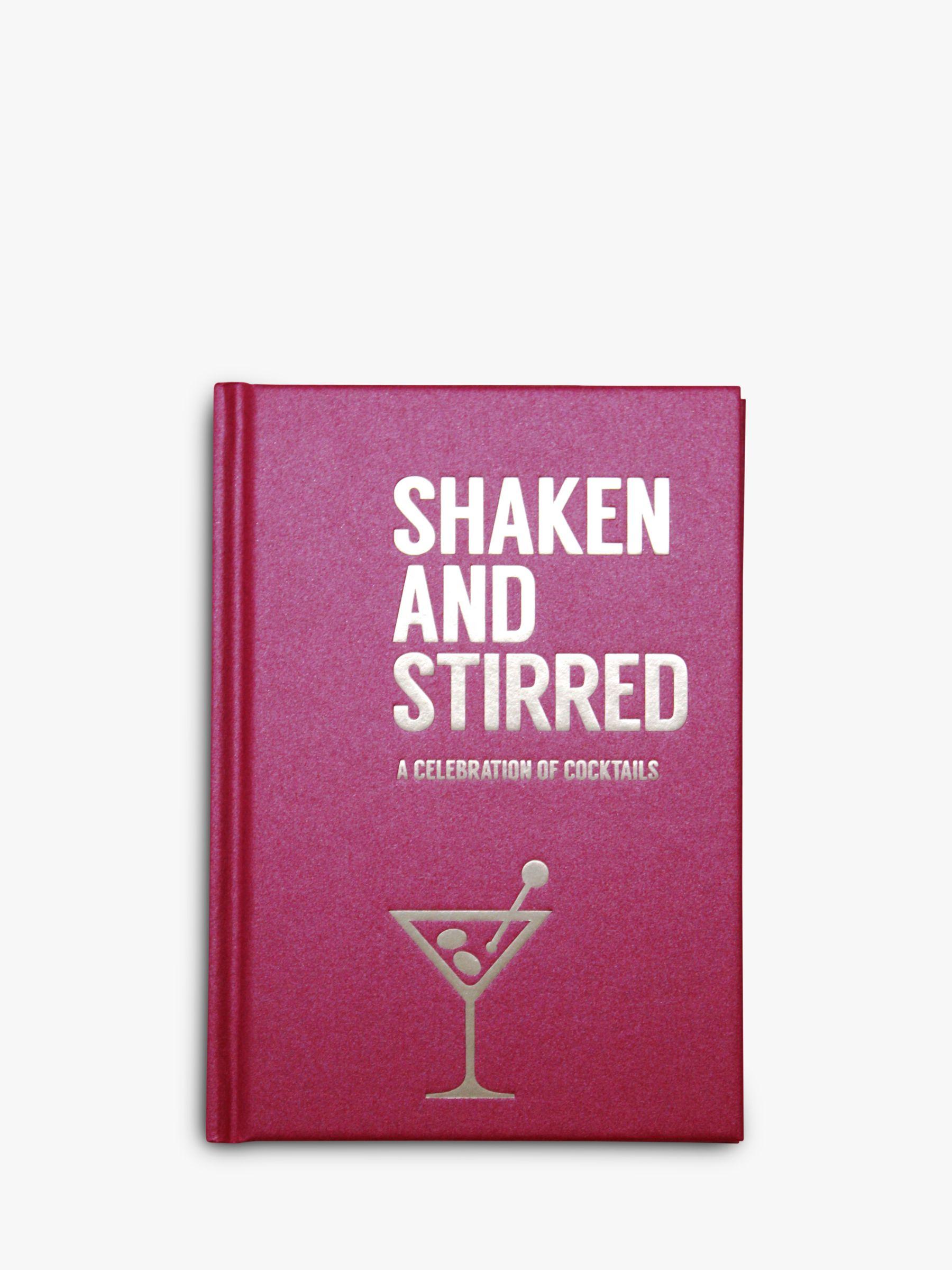 Allsorted Allsorted Shaken & Stirred Cocktail Recipe Book