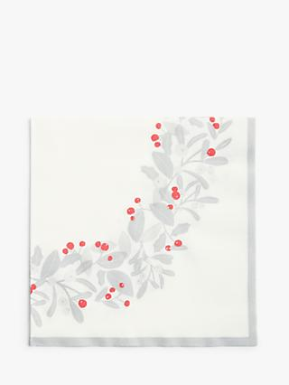 John Lewis & Partners Winter Wreath Disposable Napkins, Pack of 12