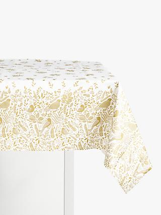 John Lewis & Partners Christmas Garden Disposable Table Cover