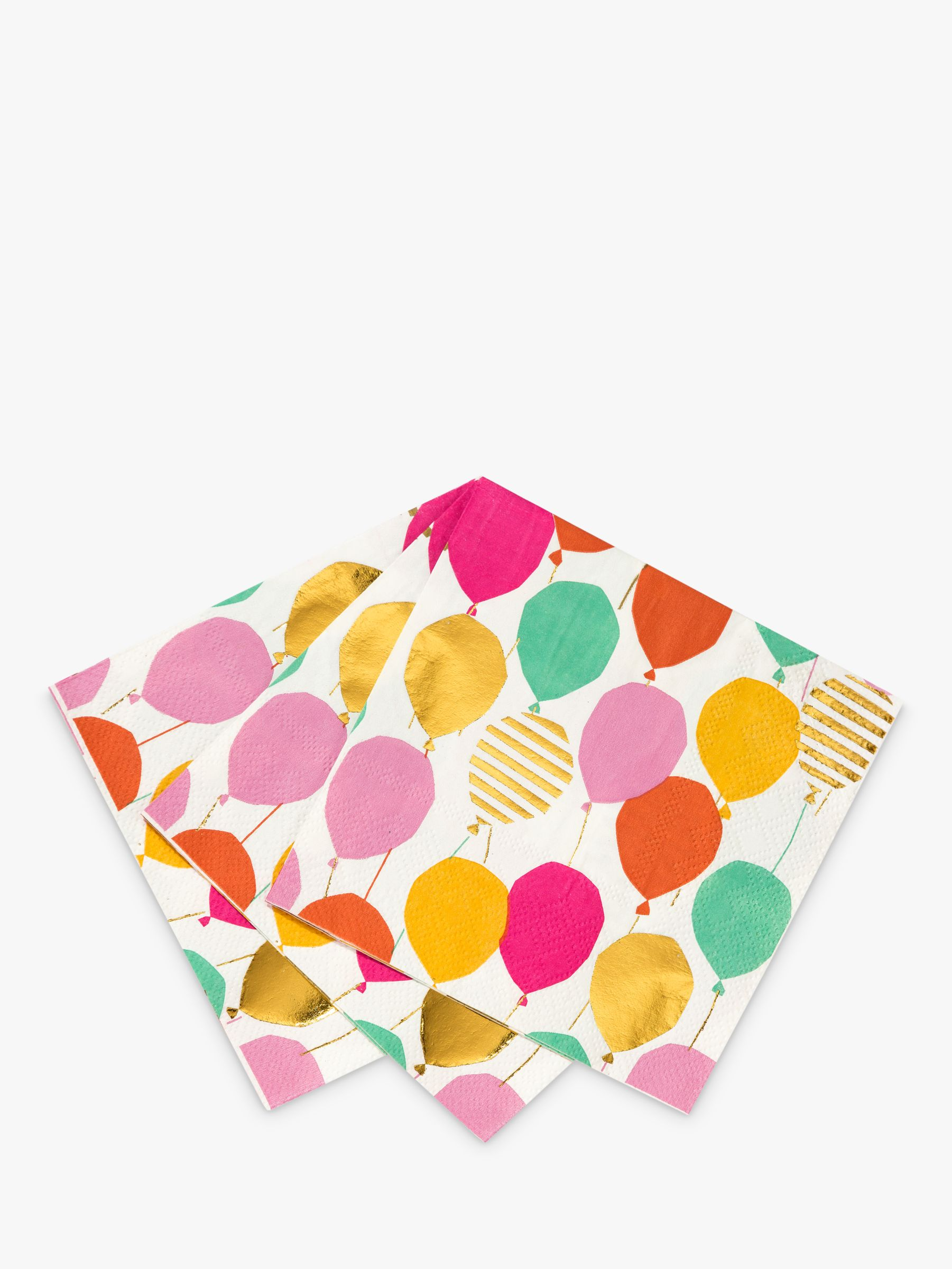 Talking Tables Talking Tables Rainbow Bloom Disposable Napkins, Pack of 16