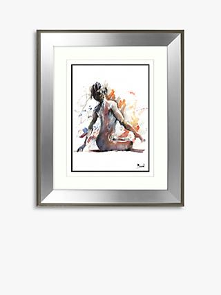 5d828b8aa Joanne Boon Thomas - Sitting Nude Framed Print   Mount