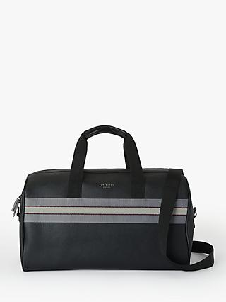 Ted Baker Ceviche Webbing Holdall, Black