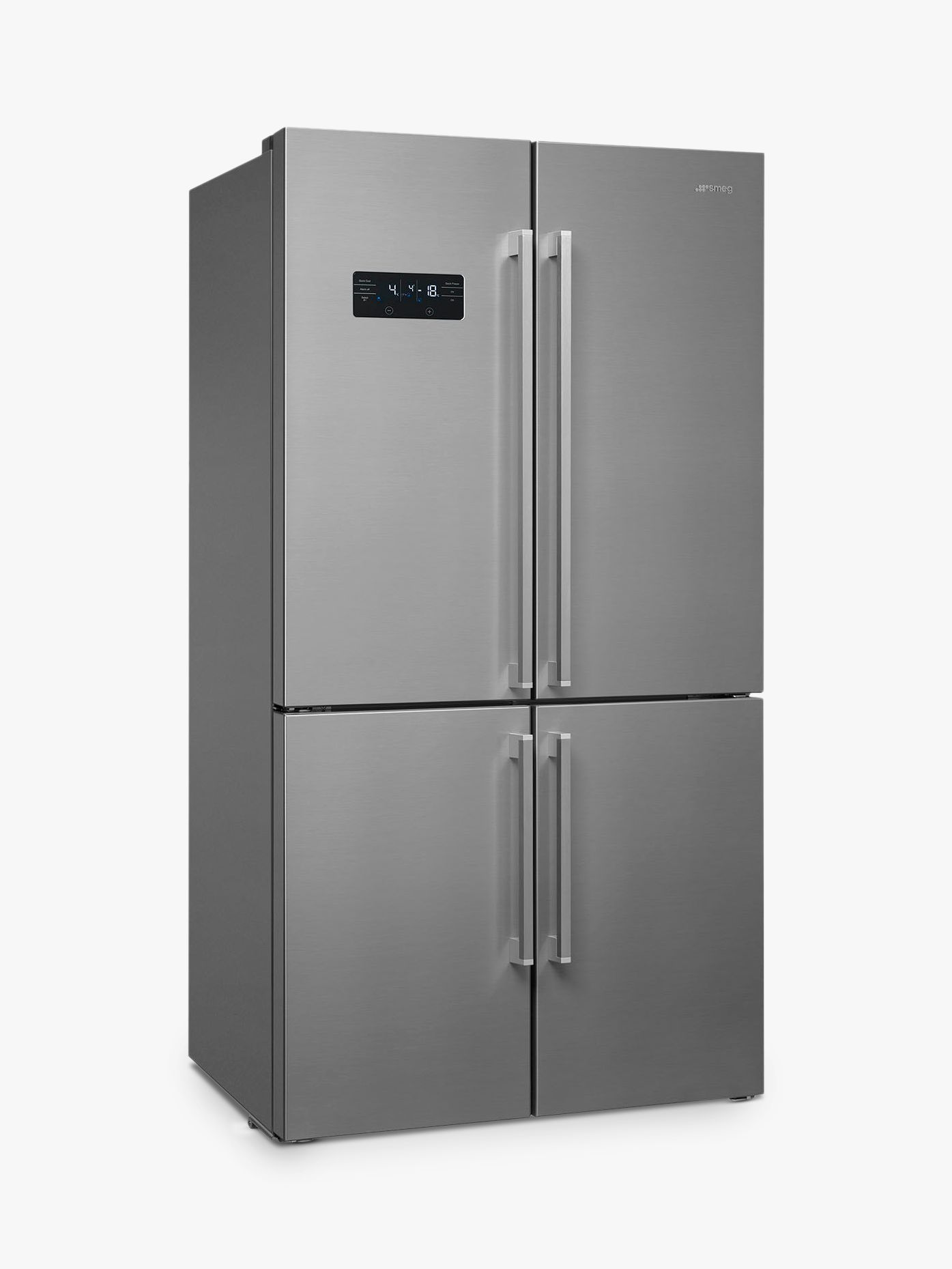 Smeg Smeg FQ60X2PE1 4-Door American Style Fridge Freezer, A++ Energy Rating, 91cm Wide, Stainless Steel