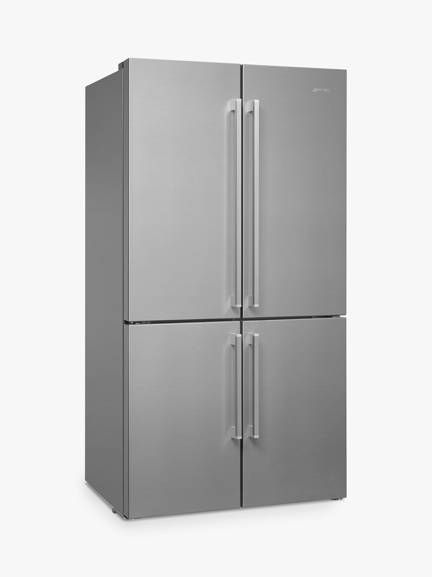 Smeg Smeg FQ60XP1 4-Door American Style Fridge Freezer, A+ Energy Rating, 90.8cm Wide, Stainless Steel