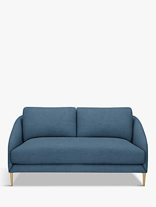 John Lewis & Partners Cape Small 2 Seater Sofa, Light Leg