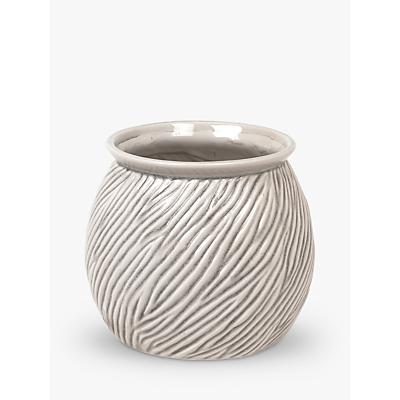 Broste Copenhagen Sandy Stoneware Flowerpot